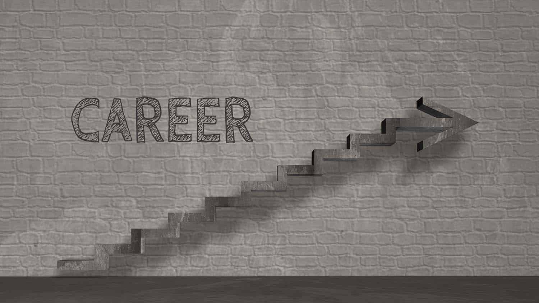 Work, rise, career, succes, occupation, business symbol